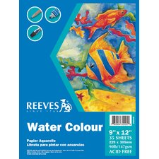 Watercolor Art Pads (Set of 4)