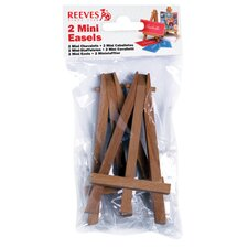 Mini Easels in Poly Bag (Set of 4)