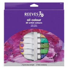 Oil Color Paint (Set of 22)