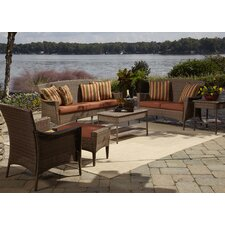 Key Biscayne 5 Piece Seating Group with Cushions