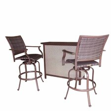 Island Cove Swivel Bar Set