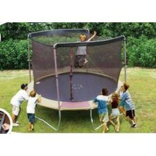 12' Enclosure Trampoline Net Using 2 Arches
