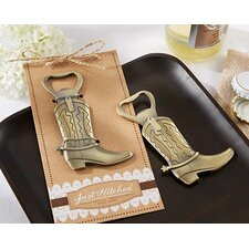 Just Hitched Cowboy Boot Bottle Opener (Set of 12)