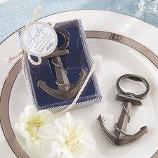 Anchor Nautical Themed Bottle Opener (Set of 12)
