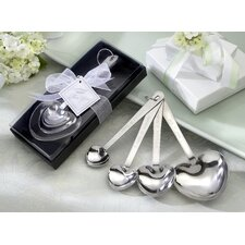 ''Love Beyond Measure'' Heart Measuring Spoons in Gift Box (Set of 10)