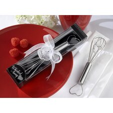 Love and Hearts Whisked Away Heart Whisk (Set of 12)