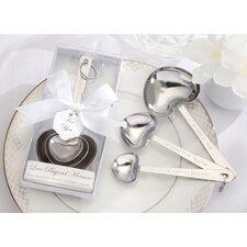 ''Love Beyond Measure'' Measuring Spoons (Set of 10)
