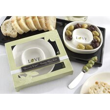 """""""Olive You"""" Olive Tray and Spreader (Set of 10)"""