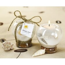 Sand and Shell Tealight Holder (Set of 10)