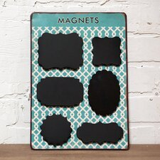 Metal Magnet Shapes Wall Décor