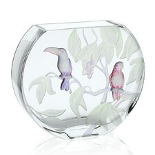 Gallery Tropical Birds Vase