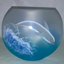 Dolphin Vase