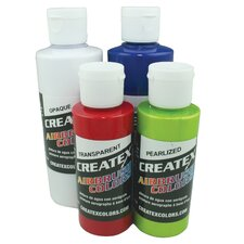 4 oz Transparent Base Airbrush Paint (Set of 2)