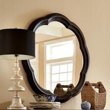 Haven Scalloped Accent Mirror