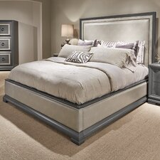 Tower Suite Upholstered Panel Bed