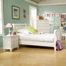 Summer Breeze Sleigh Customizable Bedroom Set