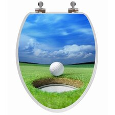 3D Series Golf Elongated Toilet Seat