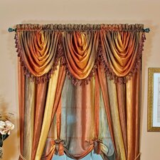 """Ombre Waterfall 50"""" Curtain Valance"""