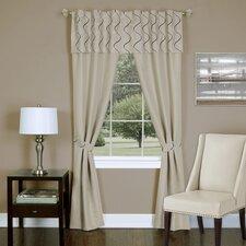 Trellis 5 Piece Curtain Panel Set