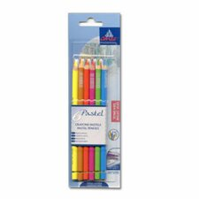 Pastel Bright Hues Pencil Color (Pack of 6)