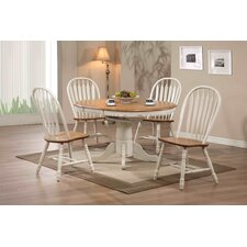 Rustic Oak Extendable Dining Table