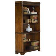 "Kensington 5 Shelf Wood 76"" Standard Bookcase"