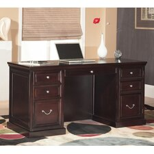 Fulton Double Pedestal Executive Desk