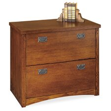 Mission Pasadena 2-Drawer Lateral File