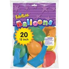 """12"""" Funsational Balloon (Set of 20)"""