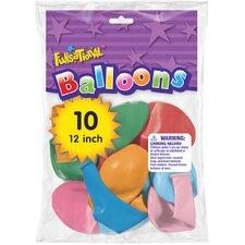 """12"""" Funsational Balloon (Set of 10)"""