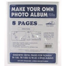 Refill Pages for TR100 Magnetic Album