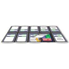 10 Compartment Memory Card Organizer