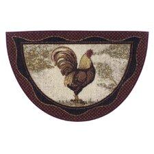 Rooster Novelty Kitchen Rug
