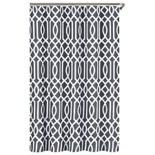 Irving Place Cotton/Polyester Shower Curtain