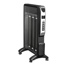 1500 Watt Portable Electric Convection Panel Heater with Adjustable Thermostat