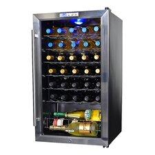 33 Bottle Single Zone Freestanding Wine Refrigerator