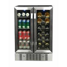 18 Bottle Dual Zone Built-In Wine Refrigerator