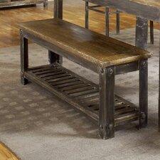 Farmhouse Wood Kitchen Bench