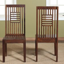 Palindrome Slat Back Side Chair (Set of 2)