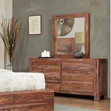 Atria 6 Drawer Dresser with Mirror