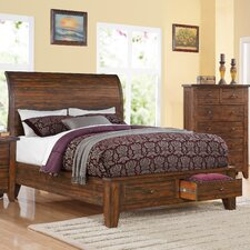 Cally Storage Panel Bed