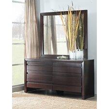 Element 6 Drawer Dresser with Mirror
