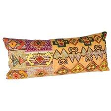Embroidery Vintage Cloth Cotton Lumbar Pillow (Set of 2)