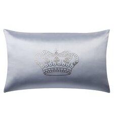 Majestic Crown Swarovski® Oblong Lumbar Pillow