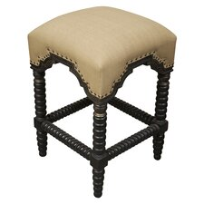 "Abacus 24"" Bar Stool with Cushion"