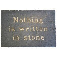 Written in Stone Wall Décor