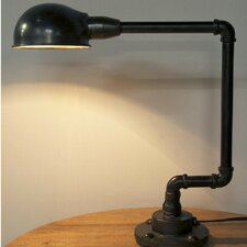 """18.5"""" H Table Lamp with Bowl Shade"""