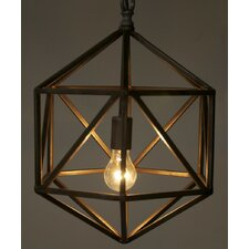 Diamond C 1 Light Foyer Pendant
