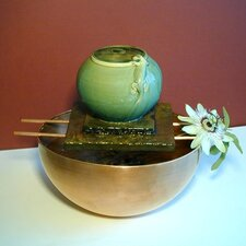 Gecko Ceramic Vase Tabletop Fountain
