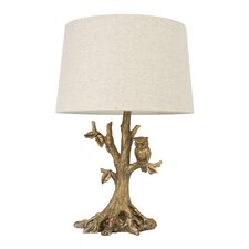 """Owl 27.75"""" H Table Lamp with Empire Shade"""